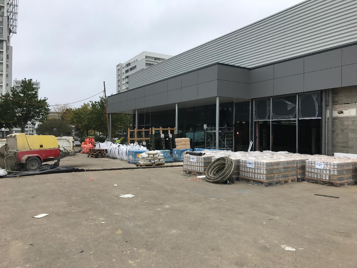 Réhabilitation de l'ancien magasin ATLAS à St Etienne du Rouvray