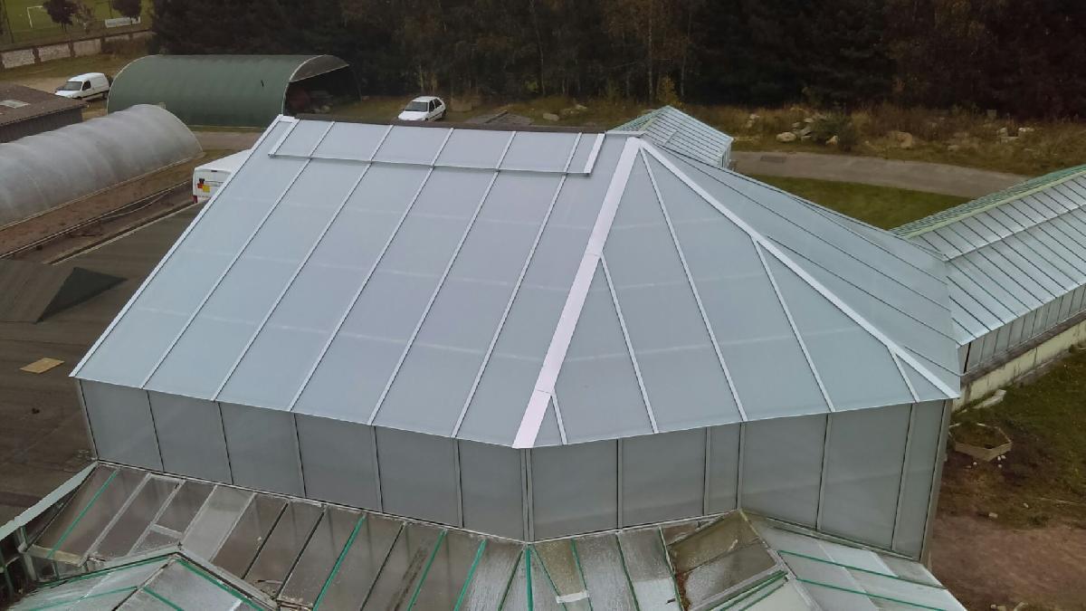 Remplacement de la toiture du CHR à St Etienne du Rouvray