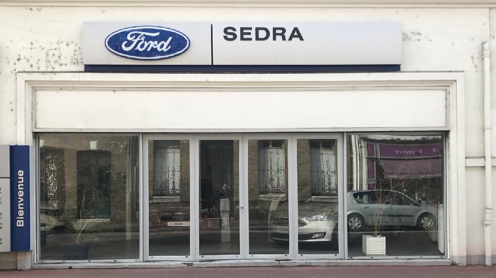Remplacement de facade Garage FORD - Elbeuf
