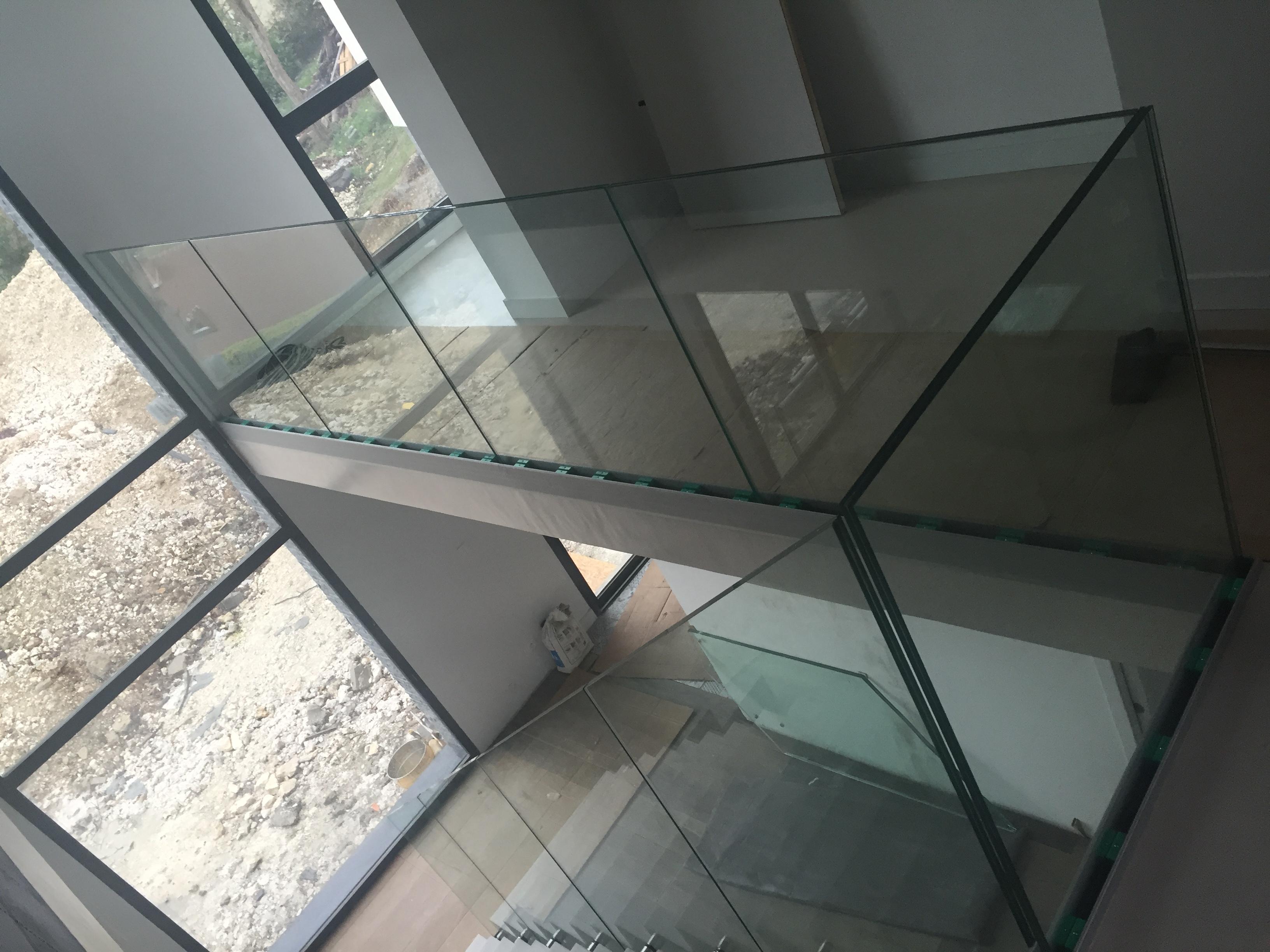 Garde-corps en verre - Rouen