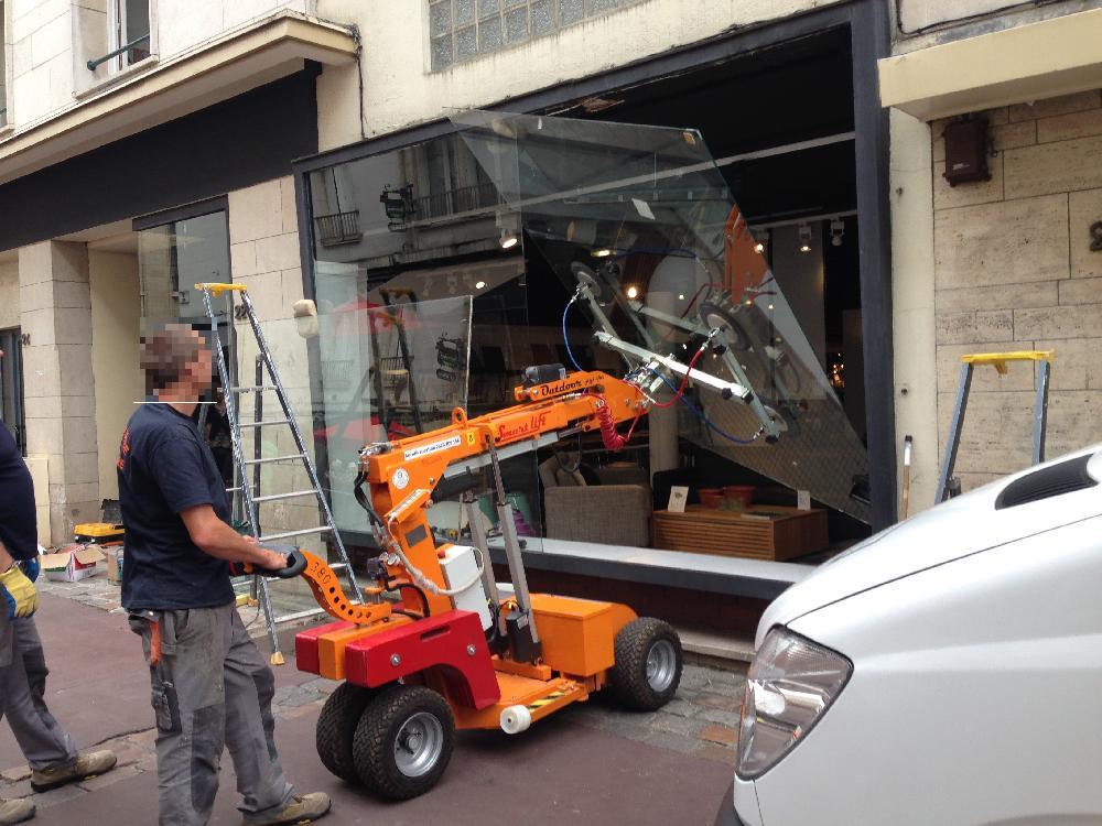 Remplacement de casse magasin HABITAT - Centre-ville Rouen