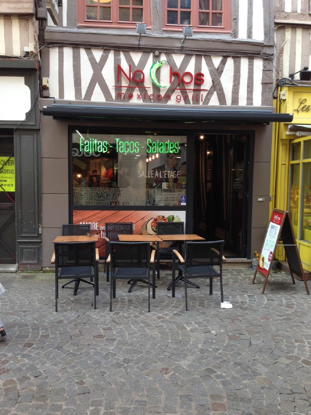 restaurant nachos centre ville rouen. Black Bedroom Furniture Sets. Home Design Ideas