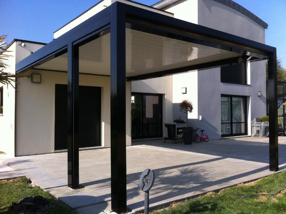Pergola bioclimatique - Rouen