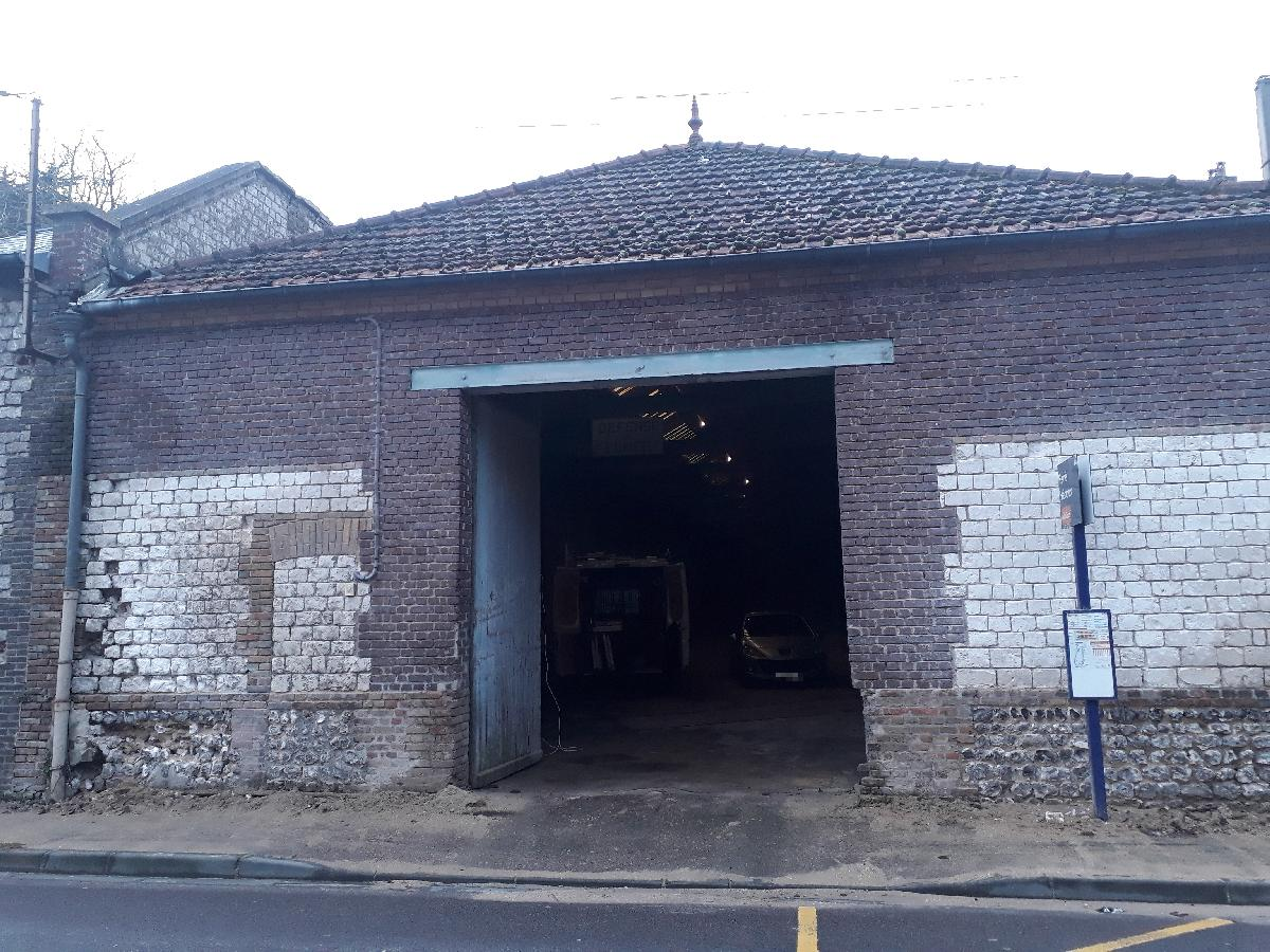 Changement d'une grande porte de garage à St Aubin lès Elbeuf