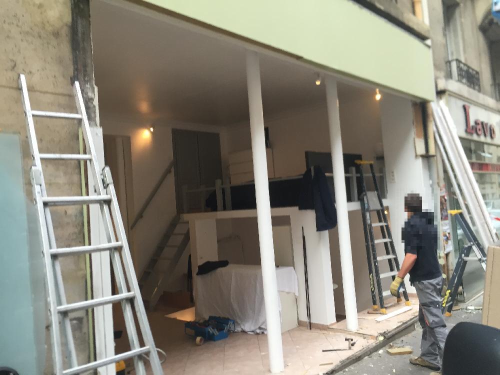 Rénovation d'une facade - Paris