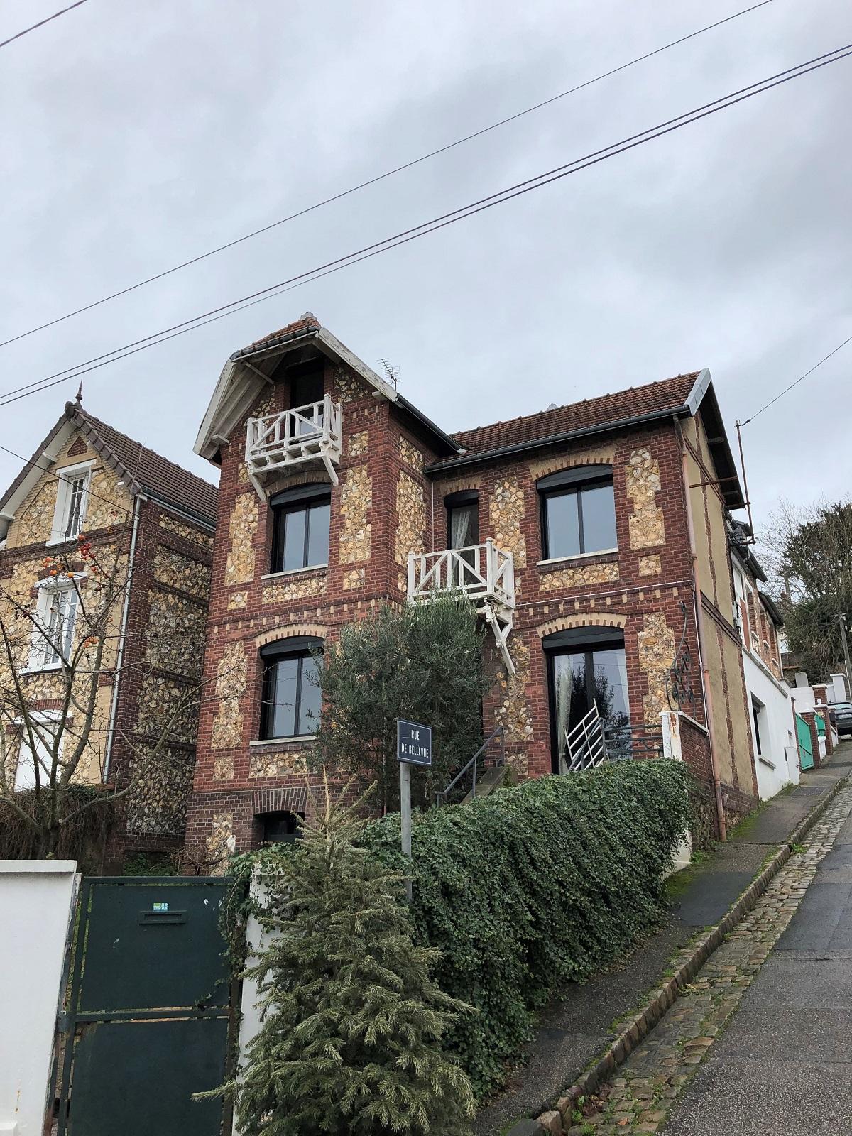 Rénovation de fenêtres sur maison ancienne de Rouen