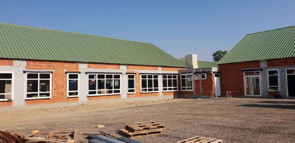 Construction d'une école à Porcheville