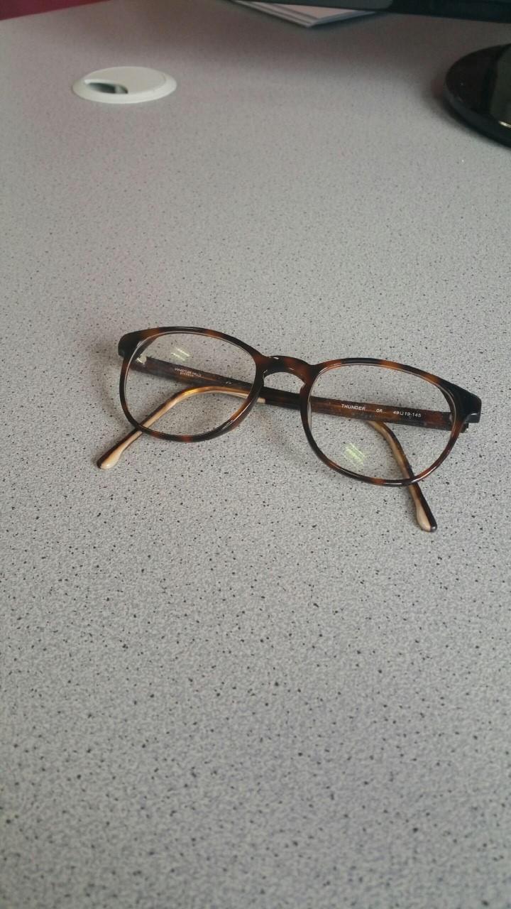 Paire de lunettes recherche propriétaire