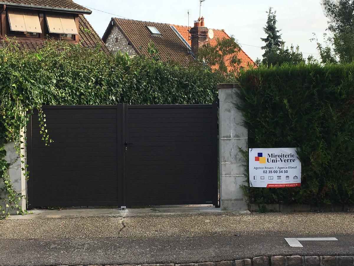 Remplacement portail battant à Rouen