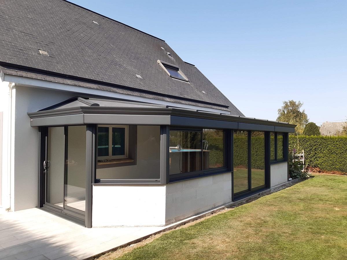 Installation d'une veranda sur mesure près de Rouen