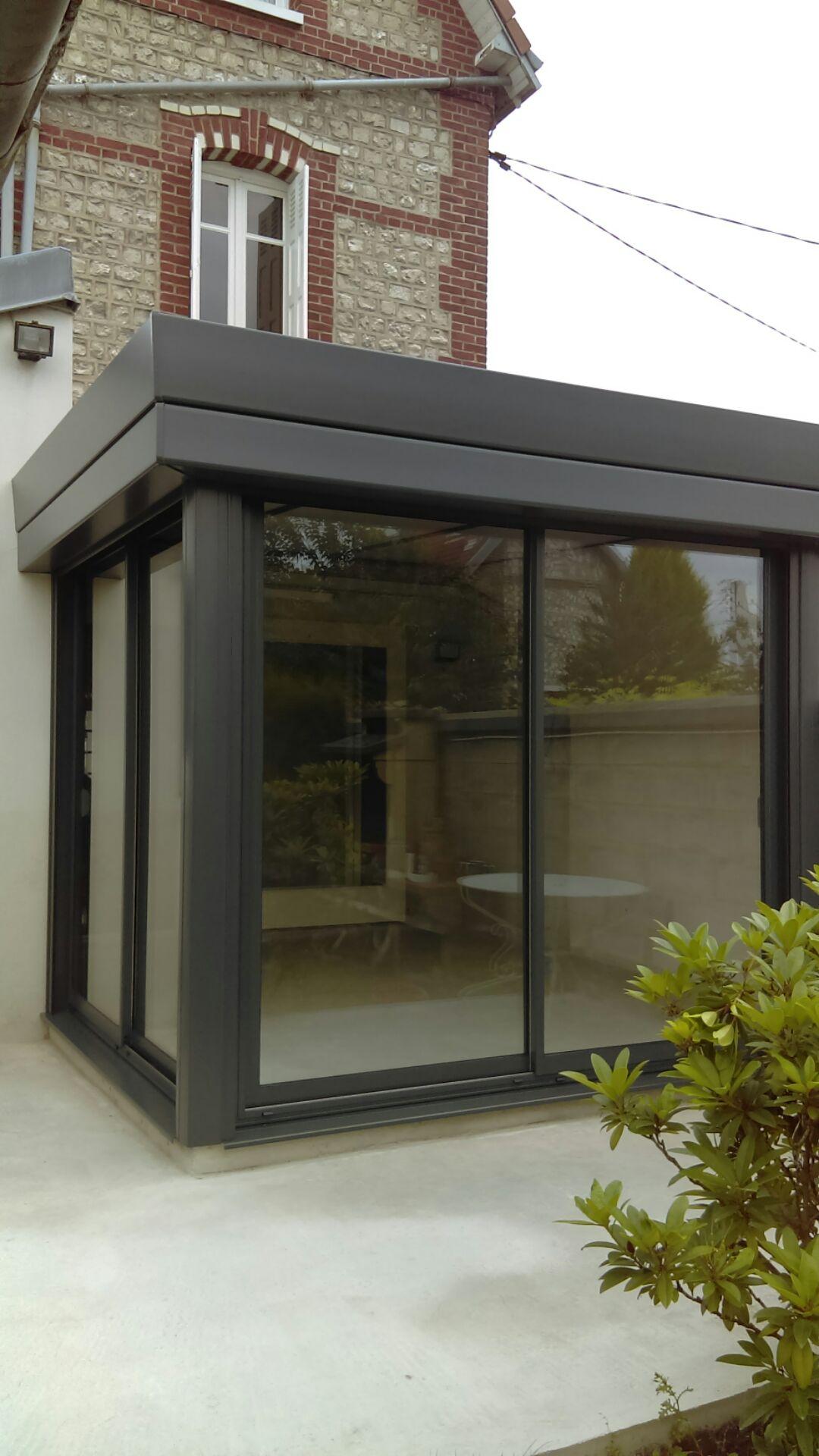 installation v randa en aluminium sotteville les rouen. Black Bedroom Furniture Sets. Home Design Ideas