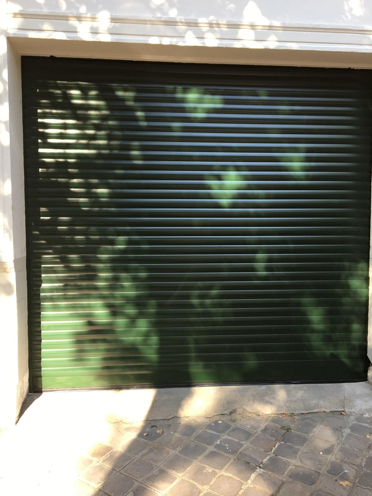 Porte de garage enroulable sur mesure à Rouen